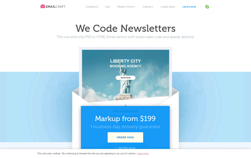 EmailCraft.com Web Design