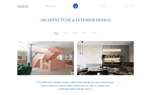 Home | IF Architecture Web Design