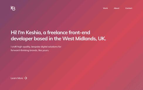 Keshia Brown Web Design