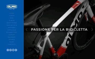 Olmo Biciclette Web Design