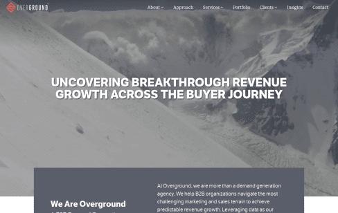 Overground Web Design