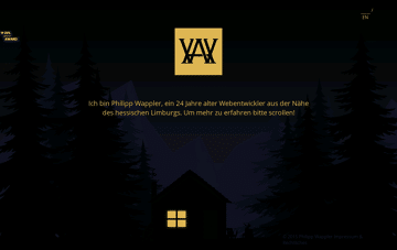 Philipp Wappler Portfolio Web Design