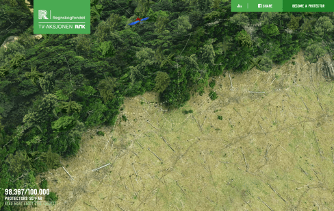 Save the Rainforest Web Design