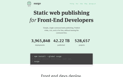 Surge Web Design