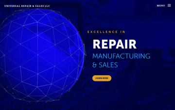 Universal Repair & Sales Web Design