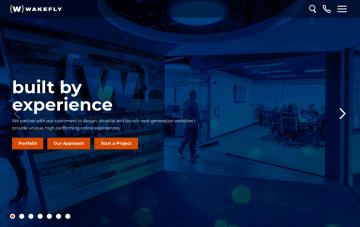 Wakefly Digital Marketing Agency Web Design