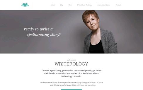 Writerology Web Design