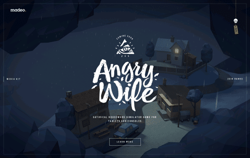 Angry Wife Web Design