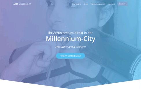 Arzt Millennium Web Design
