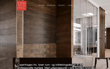 CPH INC Web Design