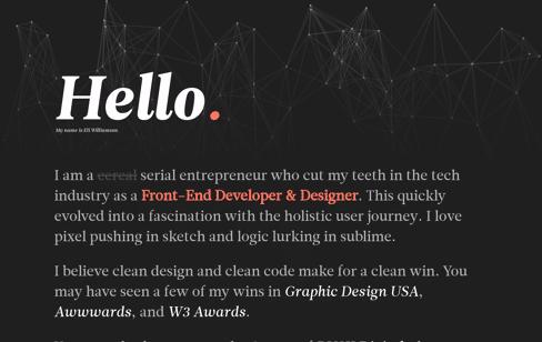 Eli Williamson Web Design