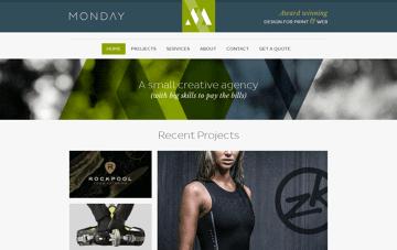 Monday Creative Web Design