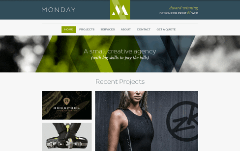 Monday Creative Web Design