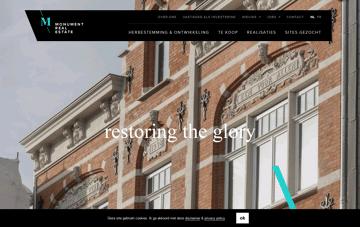 Monument Real Estate Web Design