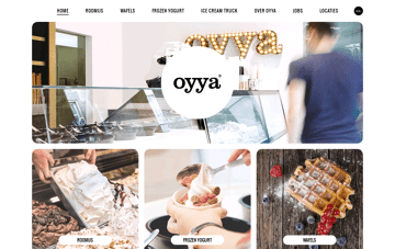 ice bar oyya Web Design