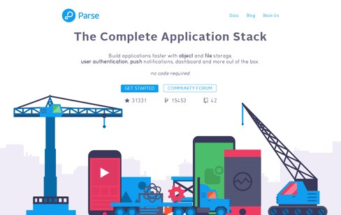 Parse Web Design