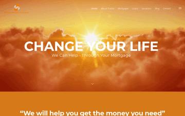 Presto Mortgages Web Design
