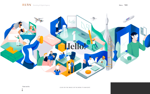 RUYA Branding & Digital marketing agency in Dubai Web Design