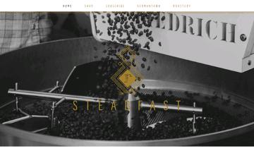 Steadfast Coffee Web Design