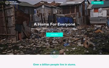 World Housing Web Design