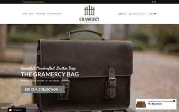 Gramercy Supply Co. Web Design