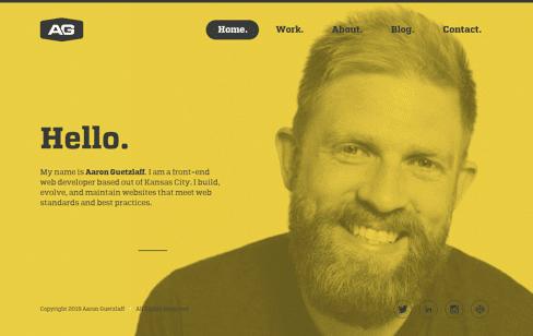 Aaron Guetzlaff Web Design