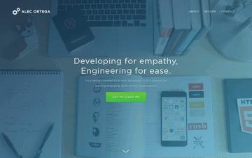 Alec Ortega Web Design