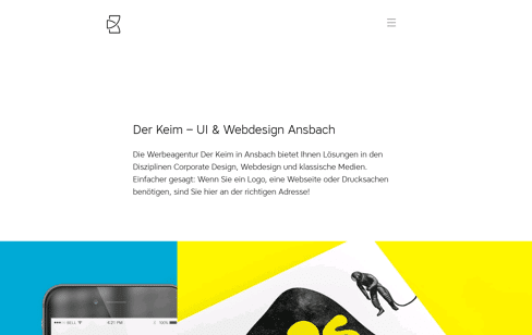 Der Keim Web Design