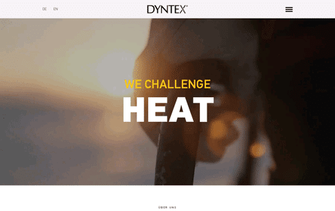 DYNTEX Web Design