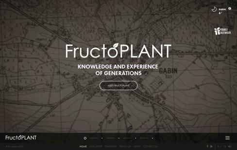 Fructoplant  Web Design