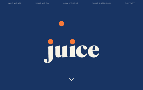 Juice Research Web Design