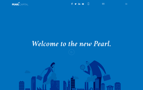 Pearl Capital Web Design