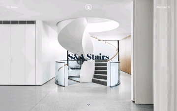 S&A Stairs Web Design