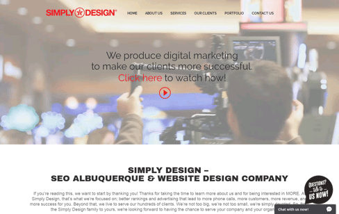 SIMPLY DESIGN Web Design