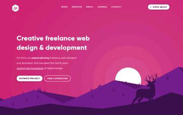 The Lonely Pixel Freelance Web Designer Web Design