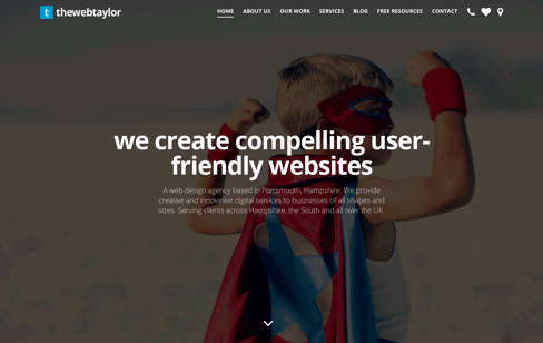 The Web Taylor Web Design