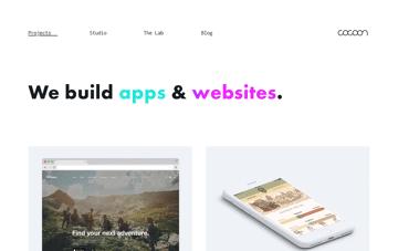 cocoon Digital Agency Web Design