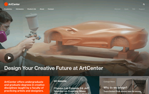 ArtCenter Web Design