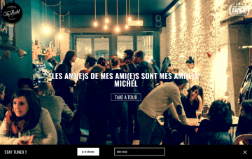 Chez Michel Web Design