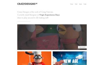 CrazyDesigns Web Design