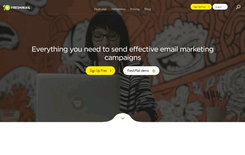 FreshMail Web Design