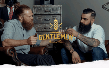 Gentlemen Barber Clubs Web Design