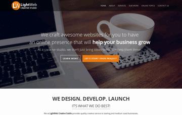 LightWeb  Web Design