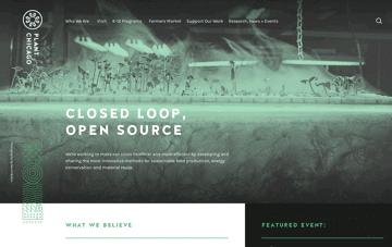 Plant Chicago Web Design