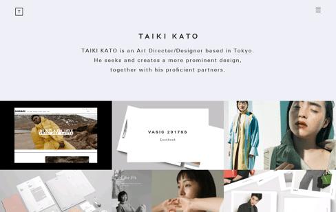 TAIKI KATO Web Design