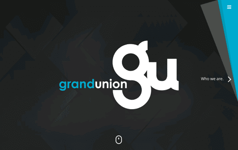 Grand Union Portugal Web Design