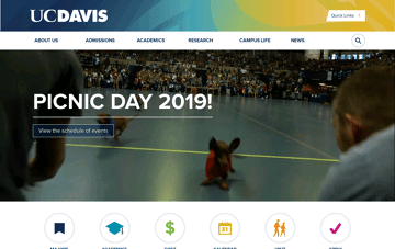 UC Davis Web Design