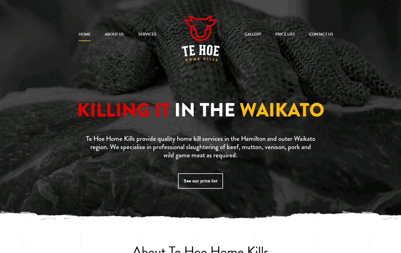 Te Hoe Home Kills