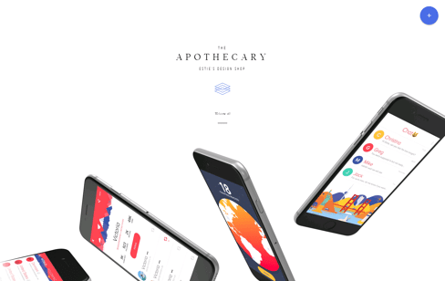 The Apothecary Web Design