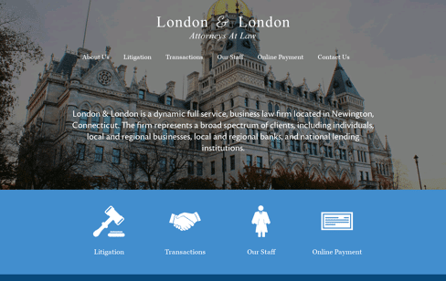 London & London Web Design